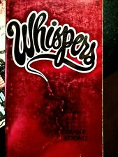 Halloween Horror Sale! WHISPERS by Dean R Koontz!  VERY FINE CONDITION!
