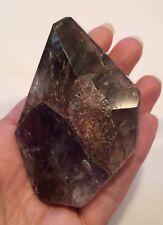 Ametrine W/ Cacoxinite And Hematite ~ Super Seven Amethyst Polished Crystal