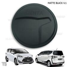 Tank Cover Fuel Cap Trim Matte Black 1 Pc Fit Toyota Sienta Xp170 2017 - 2018
