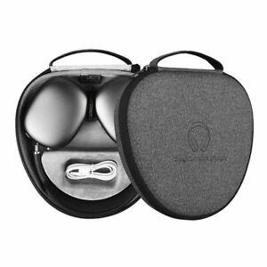 WiWU Waterproof Headphone Case For AirPods Max Slim Smart Sleep Portable Bag