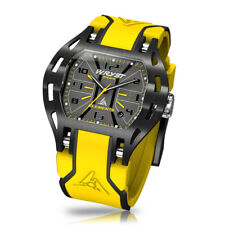 Yellow Swiss Sport Watch Limited Edition Wryst Elements PH4 Black DLC