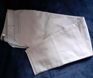 Mint Velvet Womens Smart Work Party Trouser Light Grey Sz 12~Immaculate