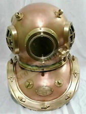 Siebe Gorman Diving Helmet 12 Bolt Deep Sea Divers Helmet Replica