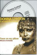 DONNA LYNTON - Tears on my pillow / Miracle of Miracles CD SINGLE 2TR 1995 RARE