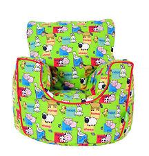 Cotton Barn Yard Farm Animals Bean Bag Arm Chair with Beans Toddler Size