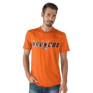Denver Broncos G-III NFL Men's Short Sleeve Synthetic Performance Tee-Size L