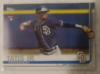 2019 Topps Series 2 Baseball Fernando Tatis JR RC #410 Qty Avail Padres