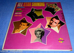 Made In U.S.A.:ALL STAR SHINDIG LP,Johnny Rivers,Four Seasons,Bobby Rydell,RARE
