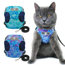 Cat Walking Jacket Harness and Leash Escape Proof Pet Dog Puppy Adjustable Vest