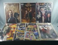 The X-Files Season 10 #4, 5 + Crow & Transformers Conspiracy IDW Comics Lot of 8