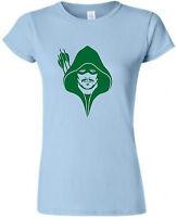 Arrow Ladies Fitted T-Shirt Flash TShirt TV T Shirt Sizes S-XXL