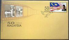 M'sia FDC 50 years Malaysia 16.9.2013