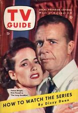 1954 TV Guide October 2-World Series with Dizzy Dean;Mickey Rooney; Polly Bergen