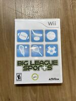 Big League Sports (Nintendo Wii, 2008) Complete Good Condition