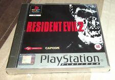 Resident Evil 2 Ps1 UK Platinum