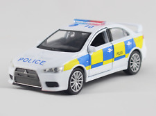 Mitsubishi Lancer Evolution X Police Car Boys Toy Boxed New Model New and Sealed