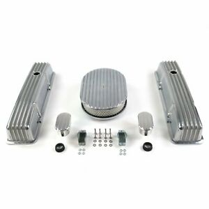 """SBC 12"""" Full Oval/Tall Finned Engine Dress Up kitw/ Breathers (No PCV)"""