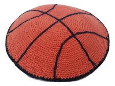 New Hand Made Knitted Jewish Kippah Yarmulke Kippas Israel.Basketball design