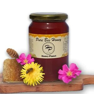 100% LAVENDER PURE RAW HONEY-FRESHY HARVESTED 2021-NATURE IN A JAR