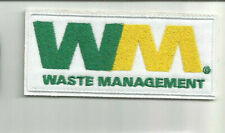 WM Waste Management driver employee patch 1-5/8 X 3-5/8 #8018