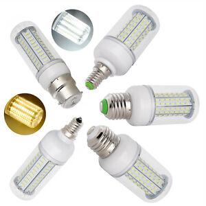 LED Corn Bulb Dimmable E12 E26 27W 25W 18W 15W 12W 7W E27 E14 B22 Light Lamp RD