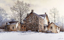 Ray Hendershot The Farmer's Daughter Country Winter Tree Print Poster 26x17
