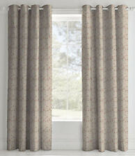 Eyelet Curtains 72s Beige Floral
