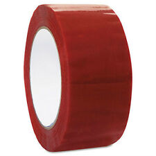 "36 ROLLS RED COLOR PACKING SEALING PACKAGING TAPE 2""x110 YARDS"