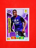 Carte card Panini ADRENALYN XL Ligue 1 2019 - 2020 n°346 BAFODE DIAKITE TOULOUSE