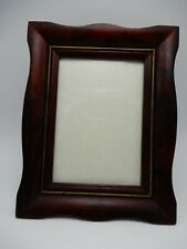 Vintage Solid Wood Frame with Gold Accent 5 X 7