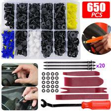 650 x Auto Niete Clip Sortiment Türverkleidung für PKW KFZ Werkstattbedarf Set