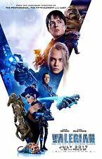 """Valerian and the City Of A Thousand Planets poster (c) -  11"""" x 17"""""""