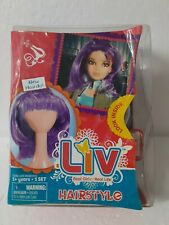2009 SPINMASTER LIV DOLL HAIRSTYLE WIG REAL GIRLS REAL LIFE