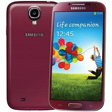 Samsung Galaxy S4 16GB GT-I9505 Red SIMFREE Android Smartphone EXCELLE condizione