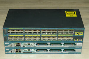 Cisco CCNA CCNP CCIE Lab Kit 2x 2801 Routers 2x 2960-48 Switch Guiding DVD