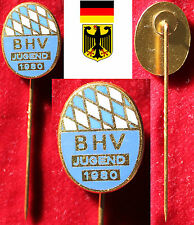 HANDBALL MEISTERSCHAFTSNADEL *GOLD DHB BHV BAYERISCHER MEISTER JUGEND 1980