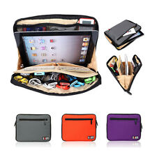 Portable Tablet Bag Case for iPad air 4 3 2 Android Tablet Power Cables Storage