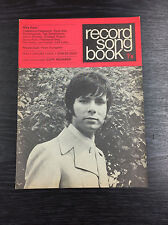 Words Record Song Book Magazine: 1st August 1970 - Cliff Richard, Jack Lemmon