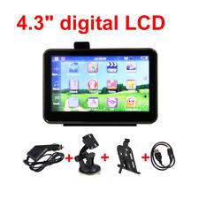 "4.3"" LCD Motorcycle/Car GPS Navigation SAT NAV- Maps 4GB SpeedCam 3rd"