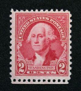 US Stamp Scott #707 ~ 1932 Washington Bicentennial carmine 2c MNH RL02