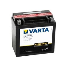 VARTA MOTORRAD-BATTERIE YTX14-BS YTX 14-BS,12 VOLT, KÄLTEPRÜFSTROM EN(A) 100 NEU