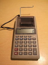 Casio Printing Calculator Hr-8L w/ power supply adapter *Free Shipping*