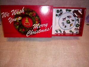 Mini We Wish You A Merry Christmas Mini Music box  Match Case