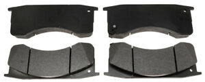 Disc Brake Pad Set-Performance, Semi-Metallic Front,Rear ACDelco Pro Brakes