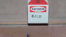 VINTAGE RAYTHEON  RADIO TUBE TELEVISION TUBE USED 6AL5 NOT TESTED