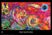 The Watcher by Grand Theft Rabbit Hole Art Print Poster 24x36 inch