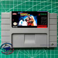 Super Back to the Future Part II  English Version SNES Video Game USA version