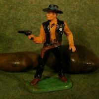 Original Hausser Elastolin 7cm SHERIFF naturgetreu & handbemalt N°6985