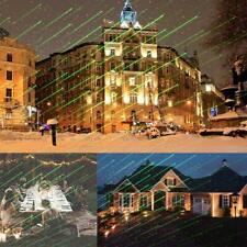 LED Laser Projektor garten licht weihnachts beleuchtung deko party außen xmas