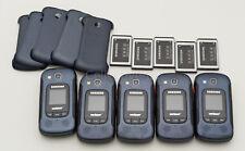 Lot of 5 Samsung Convoy 4 B690 GSM Unlocked Verizon Pre-Paid Rugged Flip Phone